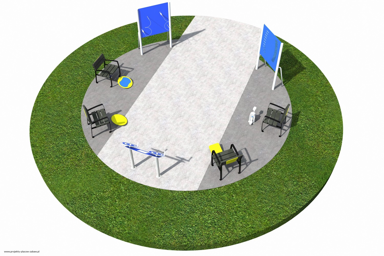 Projekt placu zabaw projekt ACTIVE SENIOR 5