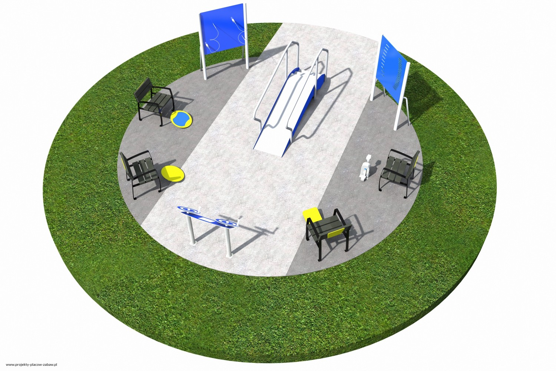 Projekt placu zabaw projekt ACTIVE SENIOR 6