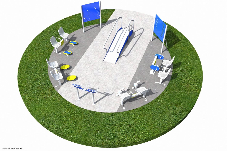 Projekt placu zabaw projekt ACTIVE SENIOR 7