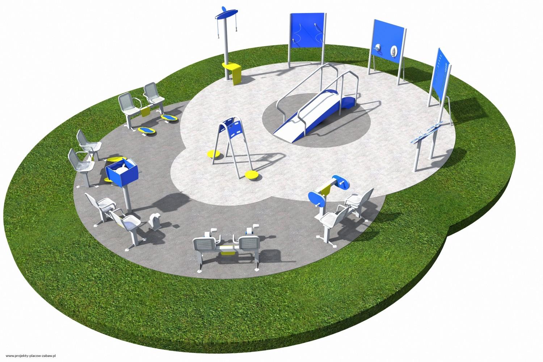 Projekt placu zabaw projekt ACTIVE SENIOR 8
