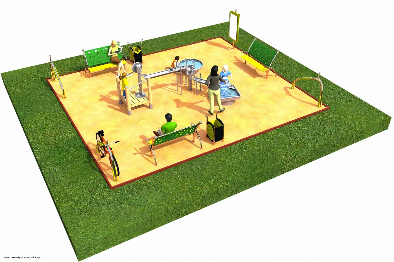 Projekt placu zabaw projekt FABRYKA WODY 1