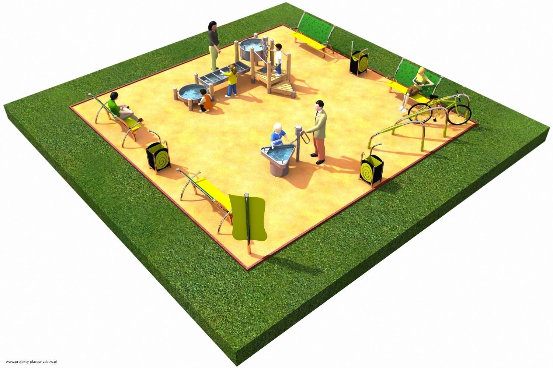 Projekt placu zabaw projekt FABRYKA WODY 2