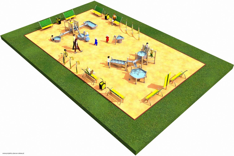 Projekt placu zabaw projekt FABRYKA WODY 4