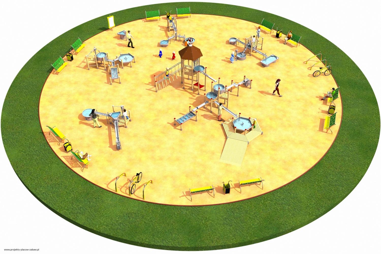 Projekt placu zabaw projekt FABRYKA WODY 5