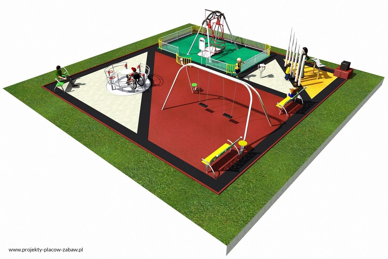 Projekt placu zabaw projekt INTEGRADO 2a