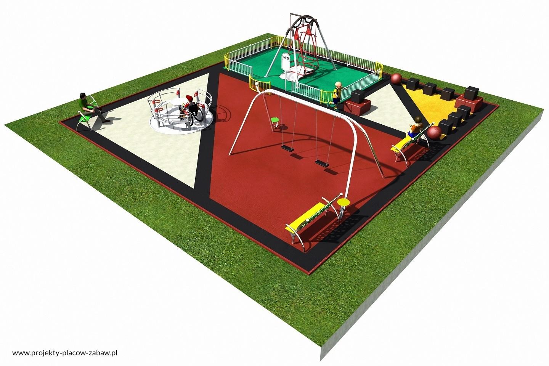 Projekt placu zabaw projekt INTEGRADO 2