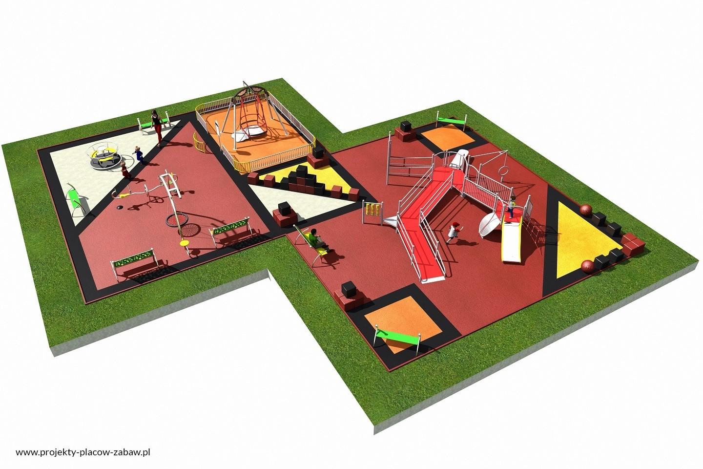 Projekt placu zabaw projekt INTEGRADO 3