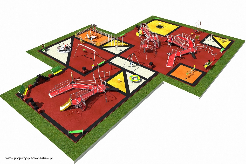 Projekt placu zabaw projekt INTEGRADO 5a