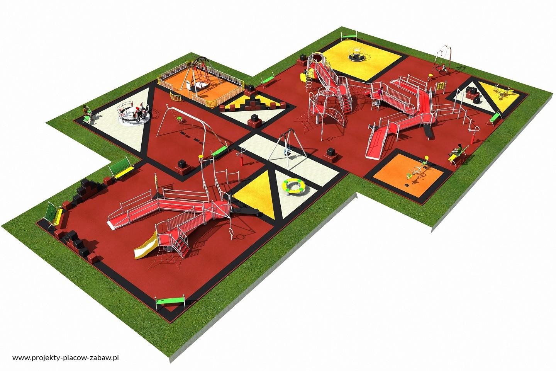 Projekt placu zabaw projekt INTEGRADO 5
