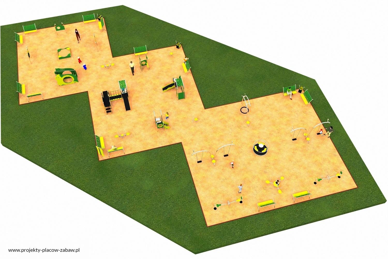 Projekt placu zabaw projekt LIMAKO MALUCH 8