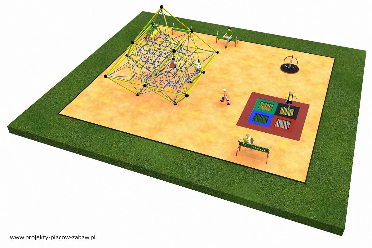 Projekt placu zabaw projekt LINARIUM 5