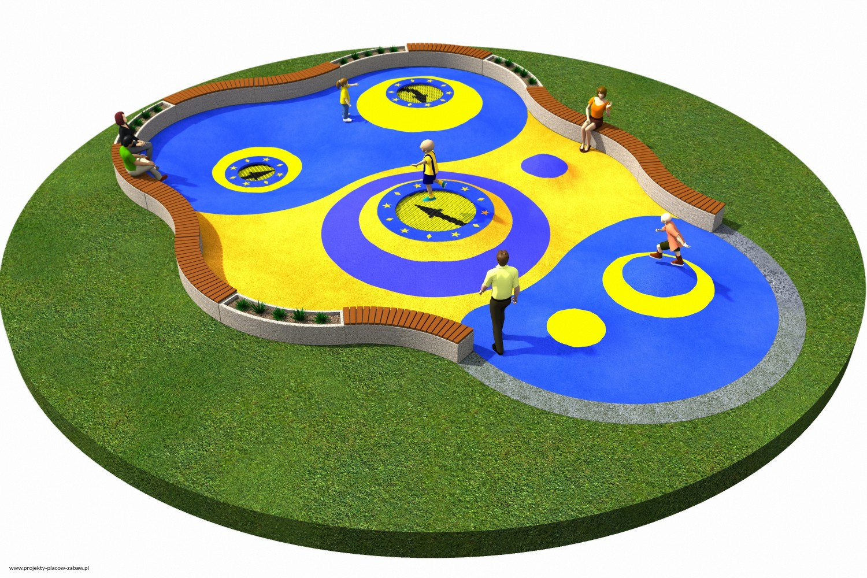 Projekt placu zabaw projekt TRAMPOLINY 10