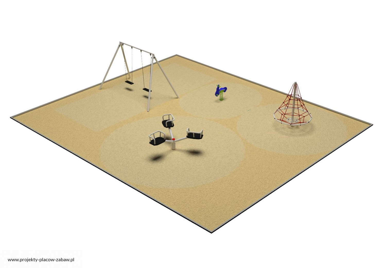 Projekt placu zabaw projekt PARK 2