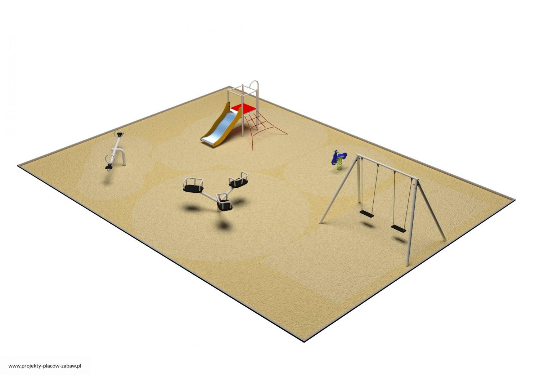 Projekt placu zabaw projekt PARK 3