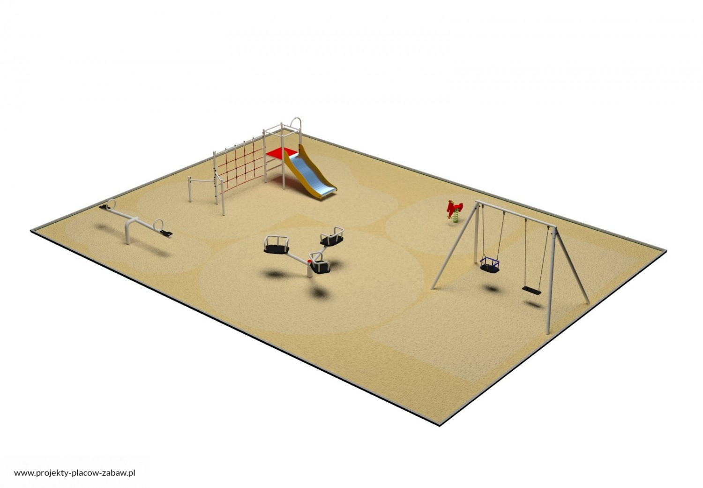Projekt placu zabaw projekt PARK 4