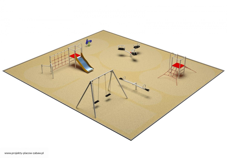 Projekt placu zabaw projekt PARK 5