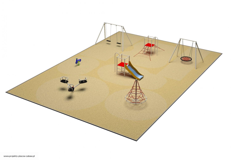 Projekt placu zabaw projekt PARK 6