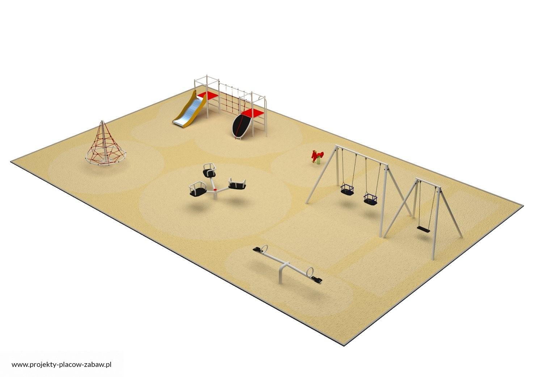 Projekt placu zabaw projekt PARK 7