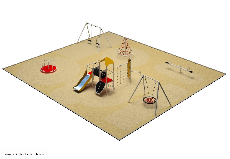 Projekt placu zabaw projekt PARK 8