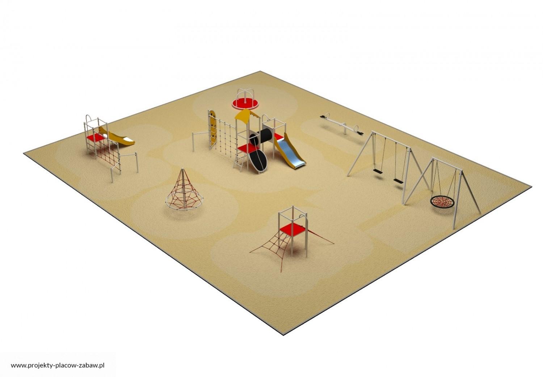 Projekt placu zabaw projekt PARK 9