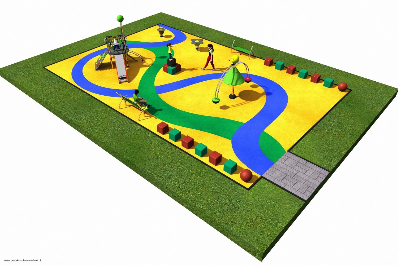 Projekt placu zabaw projekt COLOR KIDS 3 1