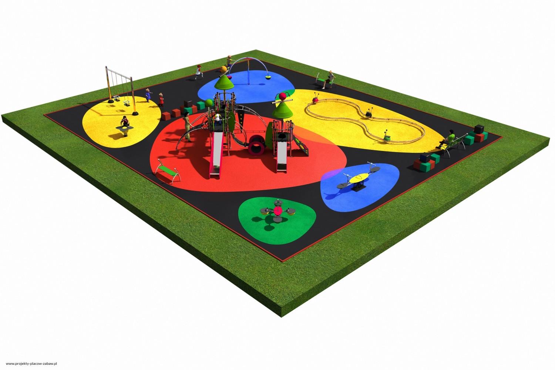 Projekt placu zabaw projekt COLOR KIDS 5 1