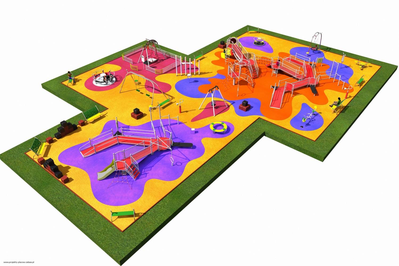 Projekt placu zabaw projekt INTEGRADO 5a 1