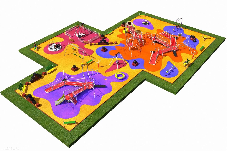 Projekt placu zabaw projekt INTEGRADO 5 1