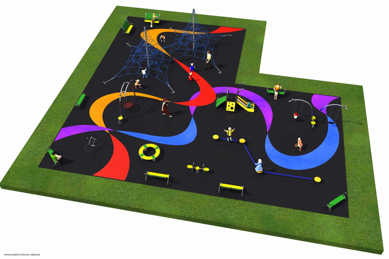 Projekt placu zabaw projekt LINARIUM 6a 1
