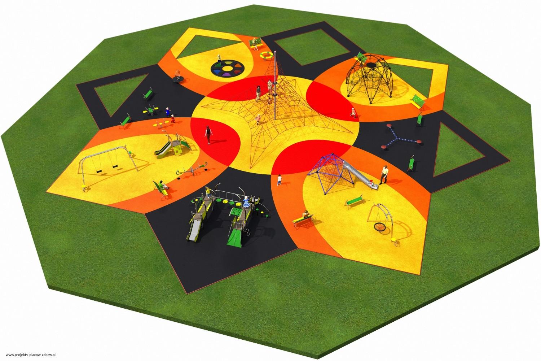 Projekt placu zabaw projekt MULTI 1 1