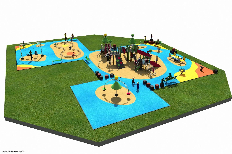 Projekt placu zabaw projekt COLOR KIDS 10 2