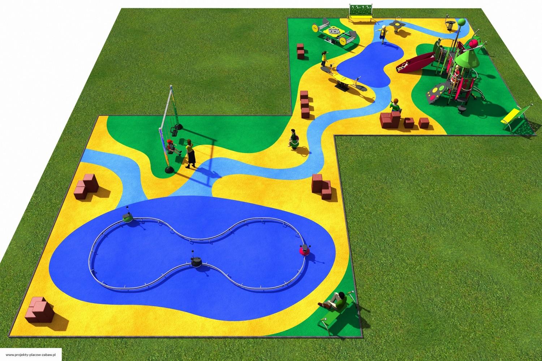 Projekt placu zabaw projekt COLOR KIDS 9 2
