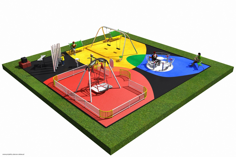 Projekt placu zabaw projekt INTEGRADO 2a 2