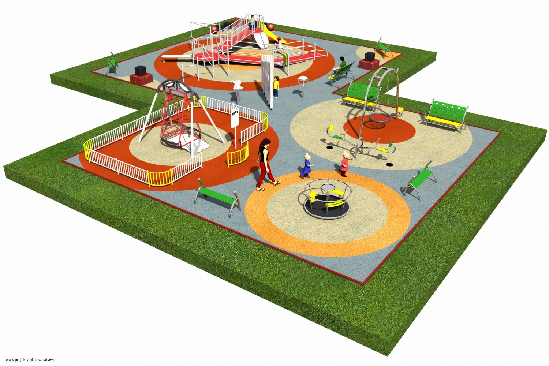 Projekt placu zabaw projekt INTEGRADO 3a 2