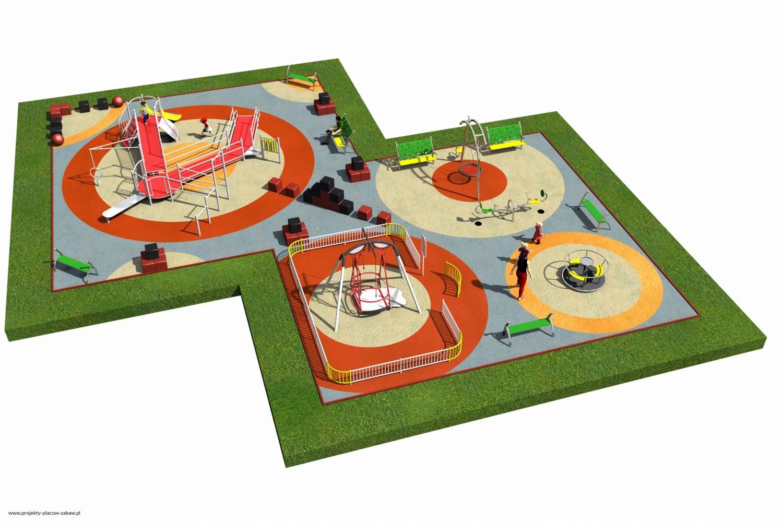 Projekt placu zabaw projekt INTEGRADO 3 2
