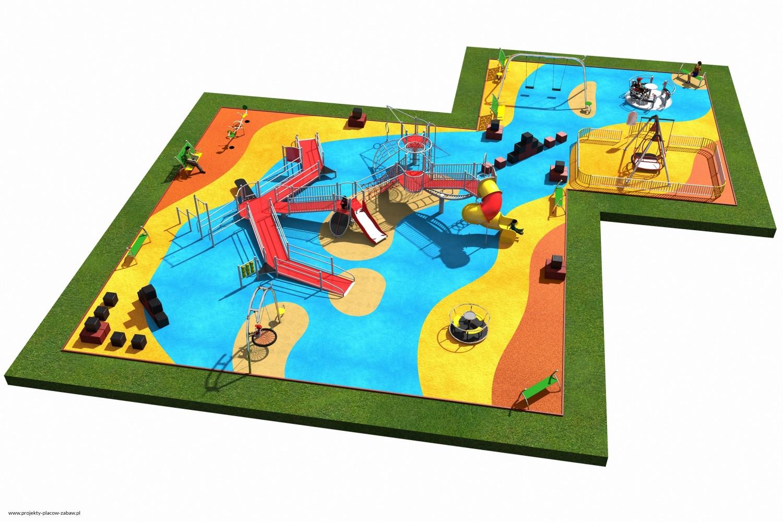 Projekt placu zabaw projekt INTEGRADO 4 2