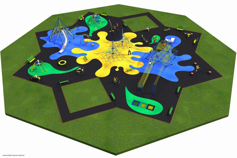 Projekt placu zabaw projekt MULTI 5 2