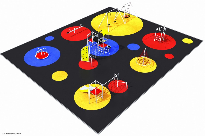Projekt placu zabaw projekt PARK 9 2