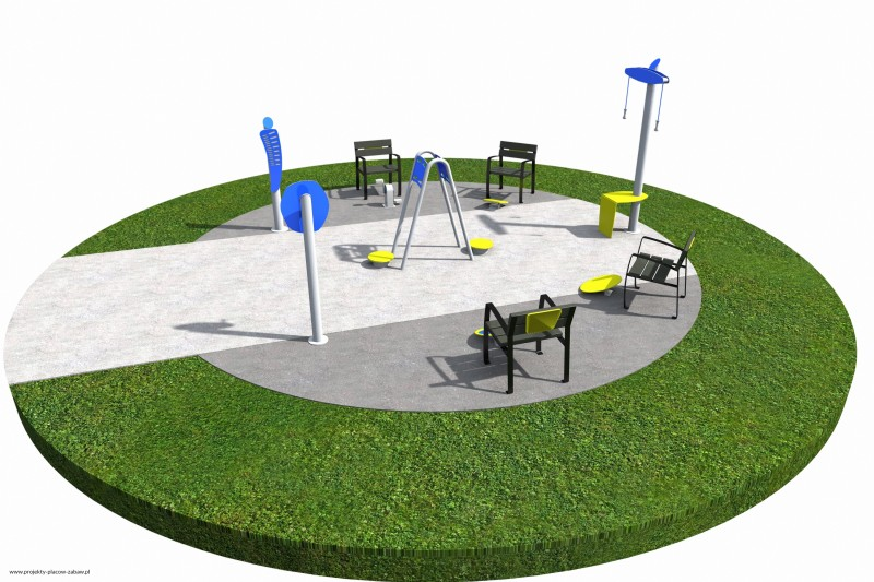 Projekt placu zabaw projekt ACTIVE SENIOR 3 1