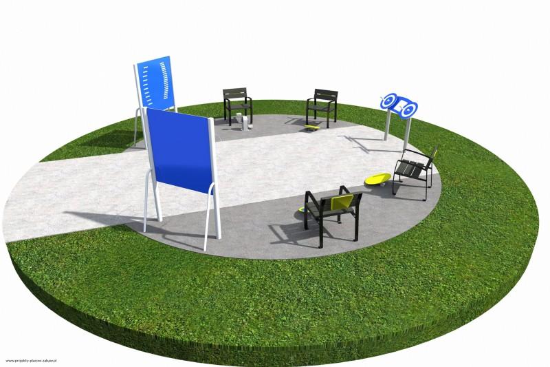 Projekt placu zabaw projekt ACTIVE SENIOR 5 1