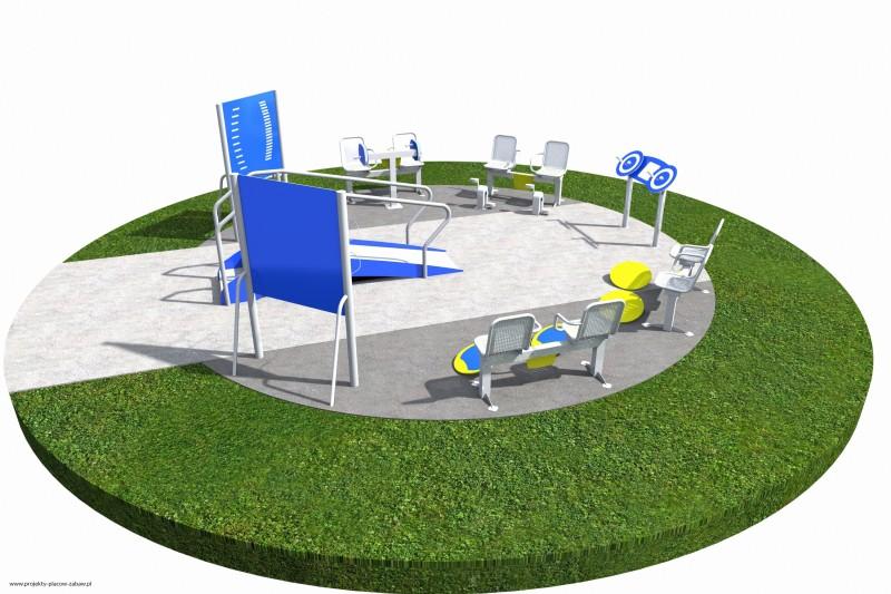 Projekt placu zabaw projekt ACTIVE SENIOR 7 1
