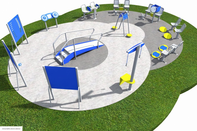 Projekt placu zabaw projekt ACTIVE SENIOR 8 1