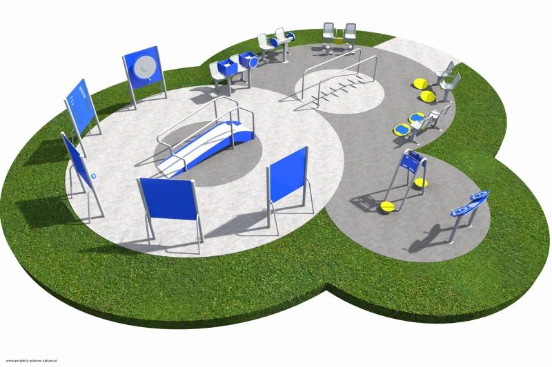 Projekt placu zabaw projekt ACTIVE SENIOR 09 1