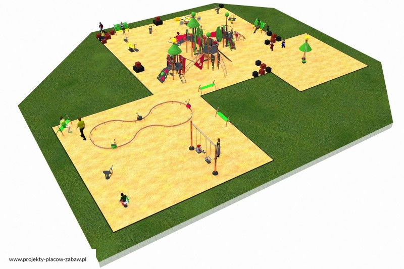 Projekt placu zabaw projekt COLOR KIDS 10 1