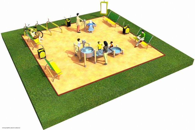 Projekt placu zabaw projekt FABRYKA WODY 2 1