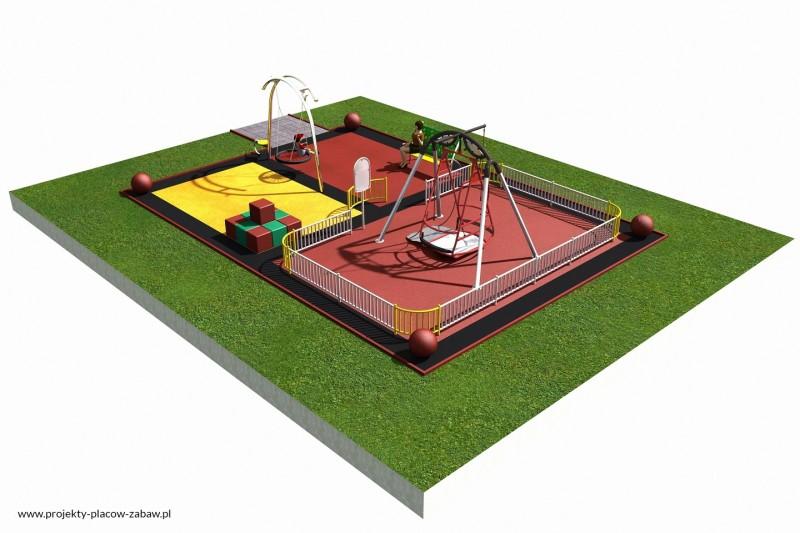 Projekt placu zabaw projekt INTEGRADO 1 1