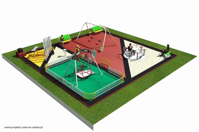Projekt placu zabaw projekt INTEGRADO 2a 1
