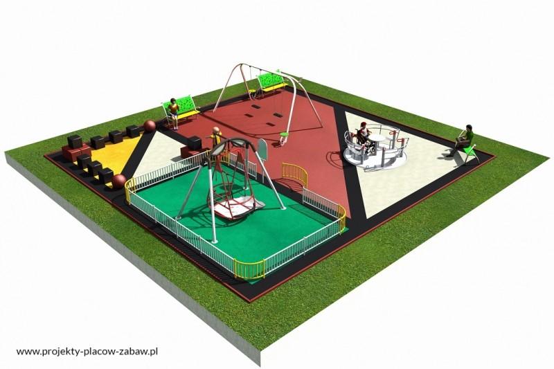 Projekt placu zabaw projekt INTEGRADO 2 1
