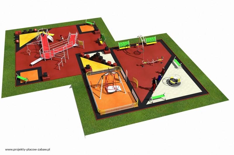 Projekt placu zabaw projekt INTEGRADO 3 1