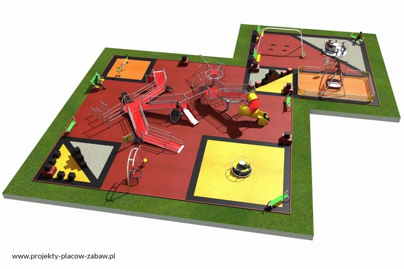 Projekt placu zabaw projekt INTEGRADO 4 1